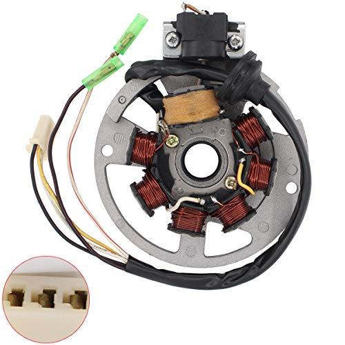 - MOTOKU Electric Magneto Stator for Polaris Scrambler Predator 50 Sportsman 90 ATV E-TON AXL50 AXL90 DXL90 RXL50 RXL70 RXL90 2 Stroke