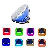 LAMPAOUS LED Pool Lights Bulb, RGB Muliti Color LED Spa Lights, E26 Base Par 56 Replacement Bulb 120VAC 35 Watt