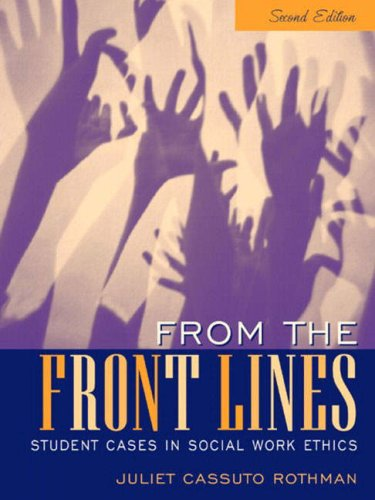 From the Front Lines: Student Cases in Social Work Ethics (2nd - Australia Buy Online Frames