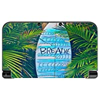 Blue Surfboard Breathe Design Print Image New 3DS XL 2015 Vinyl Decal Sticker...