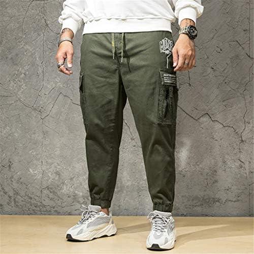 メンズサマーパンツカジュアルロングスケートボードストレートファッションポケットプラスサイズジーンズ