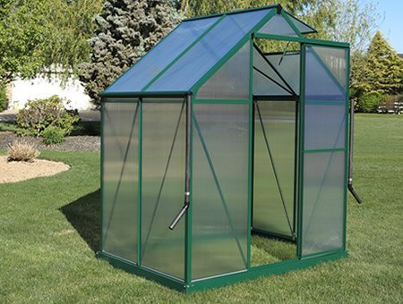 Brighton Green - Brighton Walk-In Greenhouse Kit (6x4)