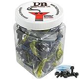Bulk Dime Bag Skateboard Hardware 7/8'' Phillips Black 25 Sets Shop Display Case
