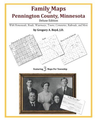 Family Maps of Pennington County, Minnesota (Minnesota Map County)