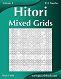 Hitori Mixed Grids: 159 Puzzles