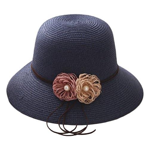 LAMEIDA Gorro de visera Sombrero de paja Sombrero de visera Sombrero solar  Sombrero plegable Sombrero de 76fd72b7176