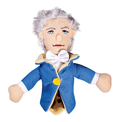 Alexander Hamilton Finger Puppet and Refrigerator Magnet