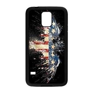 Fashion Design American Flag Samsung Galaxy S5 Hard Plastic Phone Case