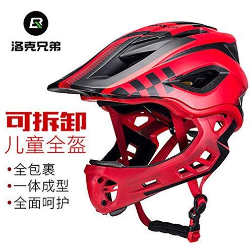 子供のヘルメット、フルヘルメット男性の女の赤ちゃんの子の車は防護服サイクリングヘルメット露出をスライディング車をバランス   B07S1GDBQK