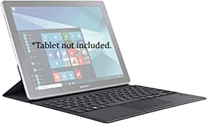 "Samsung Galaxy Book 12"" Tablet Keyboard Cover (EJ-CW720) With Pen Holder 