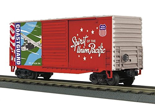 MTH Trains ; MikesトレインHouse USCG 40 ' High Cube Boxcar B07DS3BV29