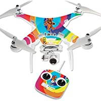 Skin For DJI Phantom 3 Standard – Deadhead | MightySkins Protective, Durable, and Unique Vinyl Decal wrap cover | Easy To Apply, Remove, and Change Styles | Made in the USA