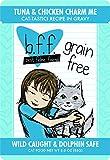Best Feline Friend (B.F.F.) Tuna & Chicken Charm Me with Tuna & Chicken in Gravy Cat Food by Weruva - 3oz Pouch (Pack of 12)
