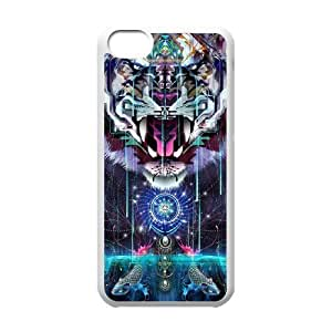 Tiger Unique Fashion Printing Phone Case for Iphone 5C,personalized cover case ygtg539286 by icecream design