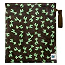 Planet Wise Lite Wet Bag, Green Giraffe