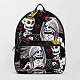 Society6 Backpack, The Sugarskull Wedding Party by stonedskull, Standard Size