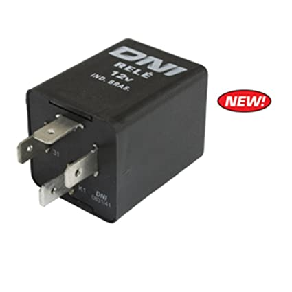 Empi 98-8713-B Turn Signal Flasher Relay, 12-Volt, 4 Prong, for Type-1-2-3  68-70