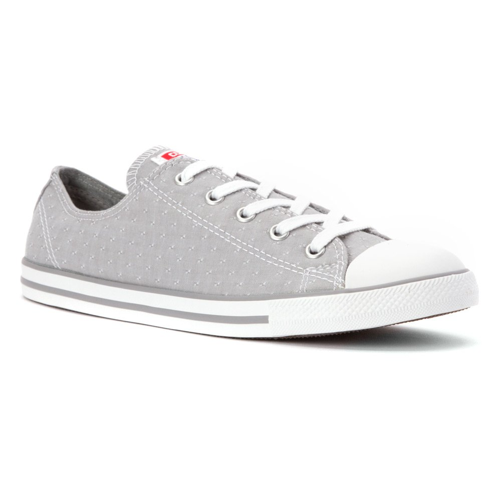 Converse Women s Chuck Taylor Dainty Oxford Dolphin Grey 6 B(M) US Women    4 D(M) US Men  Buy Online at Low Prices in India - Amazon.in 441cdddc4