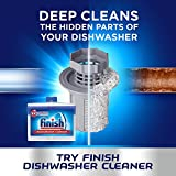 Finish Dishwasher Cleaner Dual Action Twin Pack