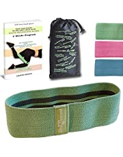 GandA Booty Band - Fabric Resistance Band - Premium Activation Band For Booty Building and Legs, Warm-Up, Hip Workout, Physical Therapy Ideal for Stretching and Lifting With Elastic Non Slip Design