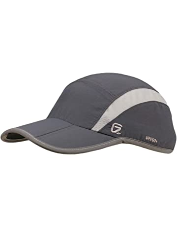 3853ad5efa9 GADIEMKENSD UV Cap Hats Running Quick Drying Sports Hat Reflective Foldable Running  Cap Baseball Cap Outdoor