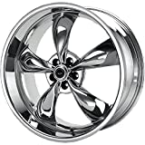 American Racing Custom Wheels AR605 Torq Thrust M Triple Chrome Plated Wheel (17x7.5''/5x100mm, +45mm offset)