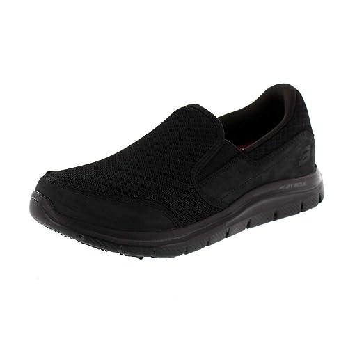 Skechers Cozard- Zapatilla de Trabajo para Mujer (36)