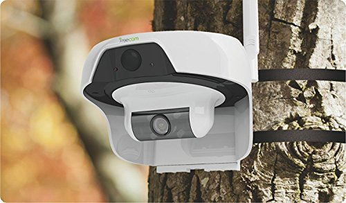 Solar Powered Wireless WiFi Security Camera 720P Cable-less IP Network Surveillance System Remote Control Web Cam Wire-Free Water Proof Outdoor Dome Camera with Built in 16GB TF Card by freecam (Image #3)