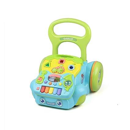 Baby walker Andador para bebés 6-18 Meses Juguetes para niños Cochecito de bebé antivuelco