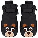 SimpliKids Children's Winter 3M Thinsulate Waterproof Ski Mittens,Animal