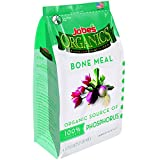 Jobe's Organics Bone Meal Fertilizer 2-14-0 Organic Phosphorous Fertilizer for Vegetables, Tubers, Flowers and Bulbs, 4 Pound Bag