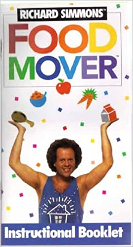 Food Mover Instructional Booklet Richard Simmons Amazon Com Books