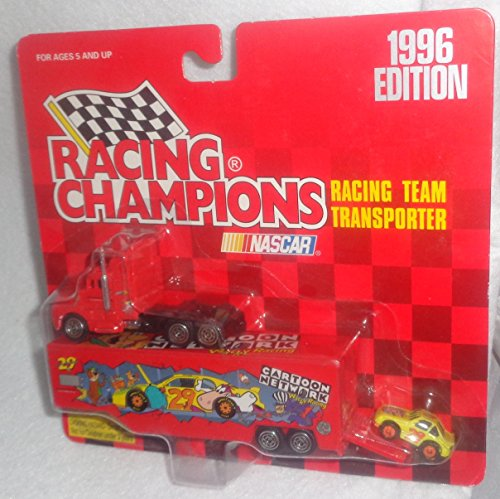 - 1996 Racing Champions Nascar #29 Cartoon Network Racing Team Transporter Cartoon Network Wacky Racing