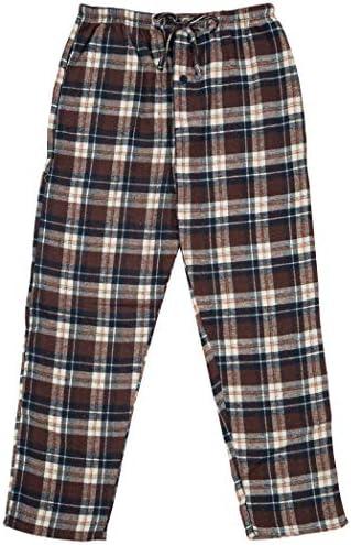 Boys/%100 Cotton Flannel Pajama Lounge Pants North 15