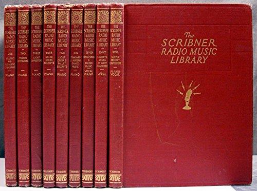 The Scribner Radio Music Library (9-volume set)