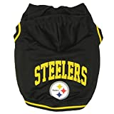 Pets First NFL Pittsburgh Steelers Hoodie, X-Small