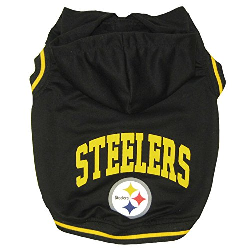 Pets First NFL Pittsburgh Steelers Hoodie, Large by Pets First