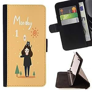 """King Case - FOR HTC DESIRE 816 - """" - Prima caja de la PU billetera de cuero con ranuras para tarjetas, efectivo Compartimiento desmontable y correa para la mu?eca"""