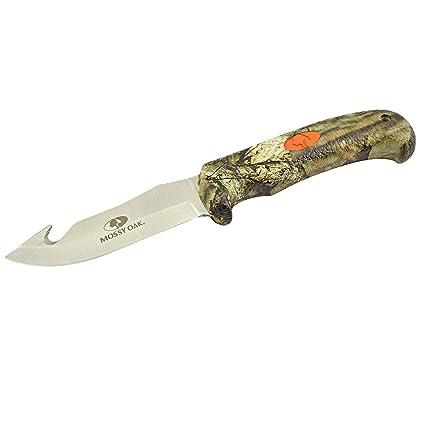 Amazon.com: Mossy Oak Pro Hunter Gut gancho cuchillo, Break ...