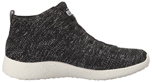 Skechers Burst Moon Dust High Top Mujer US 6 Negro Zapatillas