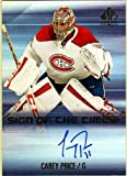 2015-16 SP Authentic Sign of the Times #SOTTCP Carey Price Autograph Card - Canadiens