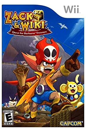 Zack & Wiki Quest for Barbaro's Treasure (Wii): Amazon co uk: PC