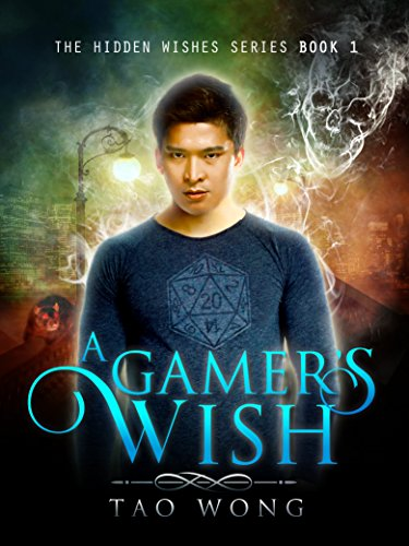 A Gamer's Wish: A GameLit Series (Hidden Wishes Book 1) cover