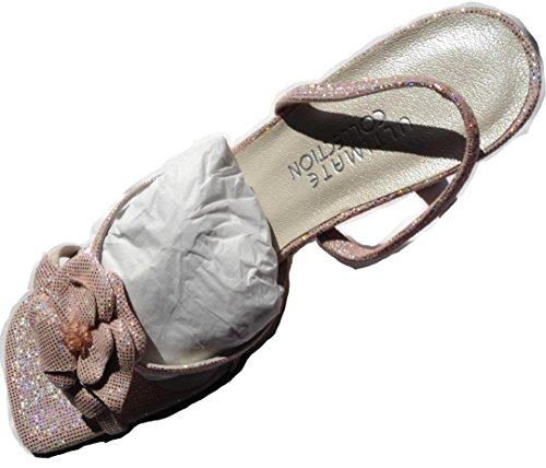 Sandalias mujer ULTIMATE para rosa COLLECTION vestir de rosa 6nSvq4