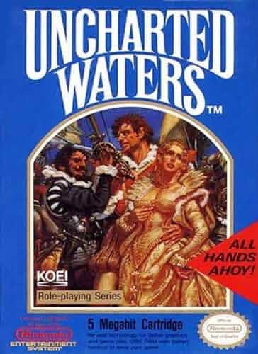 Amazon Com Uncharted Waters Nintendo Nes Video Games