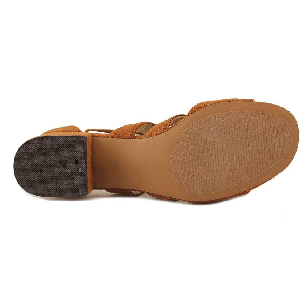 Design Lab Womens Eldy Block Heel US Dress Sandals B07CLDN5K4 8 B(M) US Heel Womens Cognac a07824