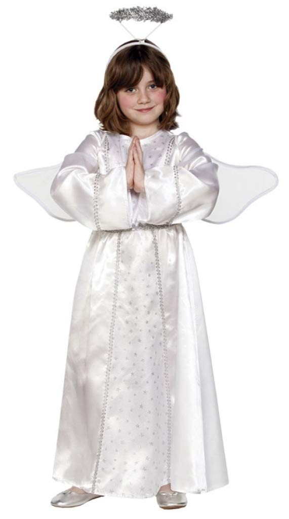 Promoción por tiempo limitado Ange avec des ailes auréole, enfants Costume