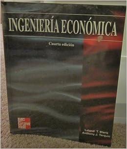 T. Blank Leland - Ingenieria Economica