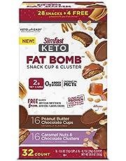 SlimFast Keto Fat Bomb Snack Bar Minis