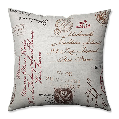 Pillow Perfect French Postale 18 Inch